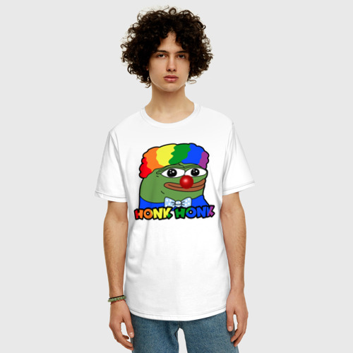 Мужская футболка хлопок Oversize КОУН ПЕПЕ Фото 01