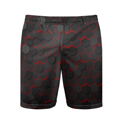 Мужские шорты спортивные OCTAGON красный Фото 01