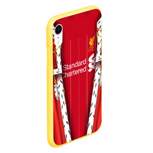 Чехол для iPhone XR матовый King liverpool Фото 01