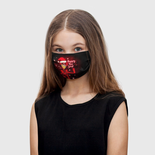 Детская маска (+5 фильтров) Новогодний Отель Хазбин One фото