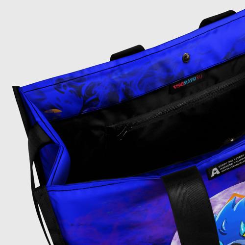 Сумка-шоппер 3D BRAWL STARS LEON WOLF Фото 01