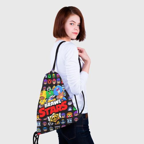 Рюкзак-мешок 3D BRAWL STARS  Фото 01