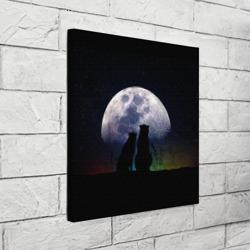 Льбовь под луной