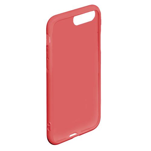 Чехол для iPhone 7Plus/8 Plus матовый красные кони Фото 01