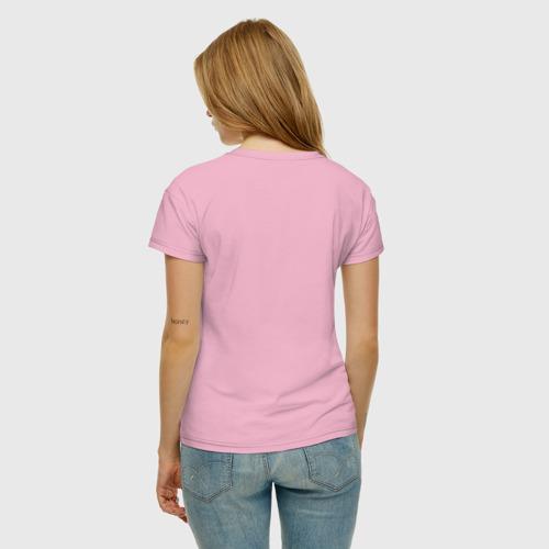 Женская футболка хлопок HORSE RIDING Фото 01