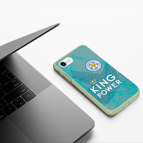Чехол для iPhone 7/8 матовый Лестер Сити Фото 01
