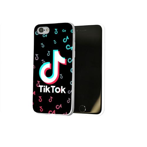 Чехол для Apple iPhone 7/8 soft-touch NEW Tik Tok Фото 01