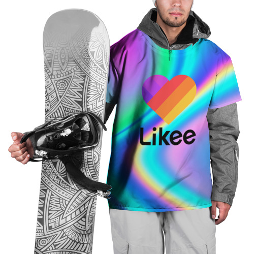 Накидка на куртку 3D LIKEE GRADIENT Фото 01