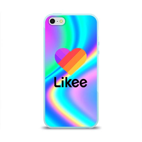 Чехол для iPhone 5/5S глянцевый LIKEE GRADIENT Фото 01
