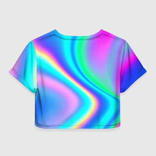 Женская футболка Crop-top 3D LIKEE GRADIENT Фото 01