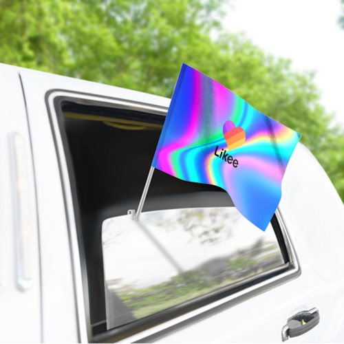 Флаг для автомобиля LIKEE GRADIENT Фото 01