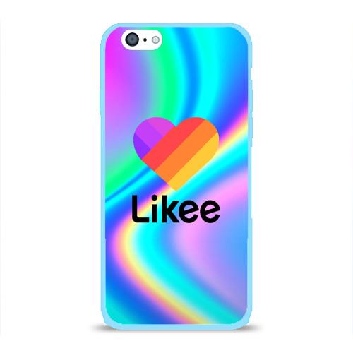 Чехол для iPhone 6/6S глянцевый LIKEE GRADIENT Фото 01