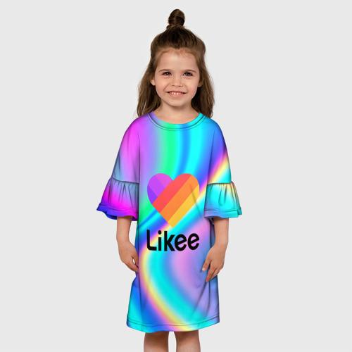 Детское платье 3D LIKEE GRADIENT Фото 01
