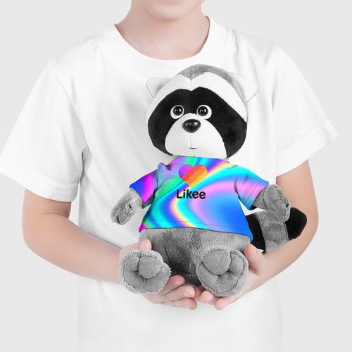 Енотик в футболке 3D LIKEE GRADIENT Фото 01