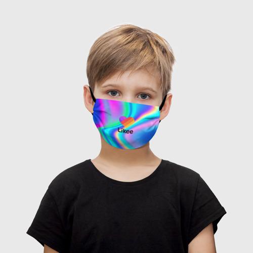 Детская маска (+5 фильтров) LIKEE GRADIENT Фото 01
