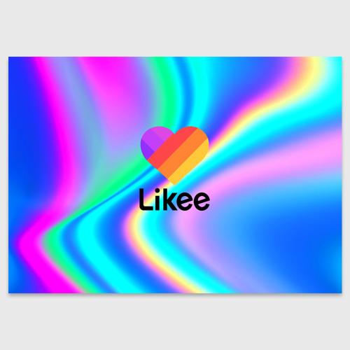Поздравительная открытка LIKEE GRADIENT Фото 01