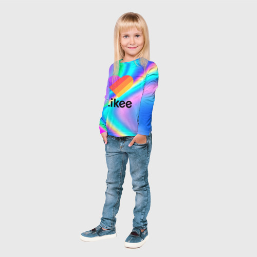 Детский лонгслив 3D LIKEE GRADIENT Фото 01