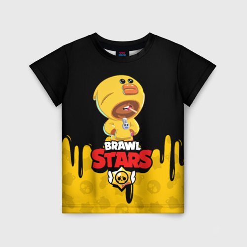 Детская футболка 3D BRAWL STARS SALLY LEON 140 фото