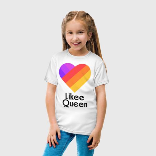 Детская футболка хлопок Likee Queen Фото 01