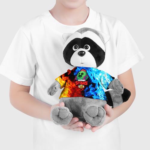 Игрушка Енотик в футболке 3D Brawl Stars Spike Фото 01