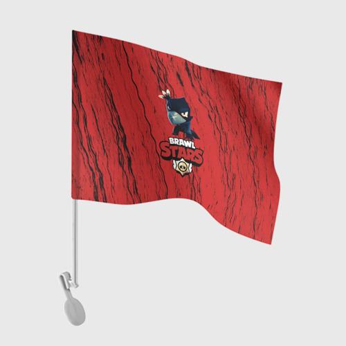 Флаг для автомобиля Brawl Stars CROW One фото