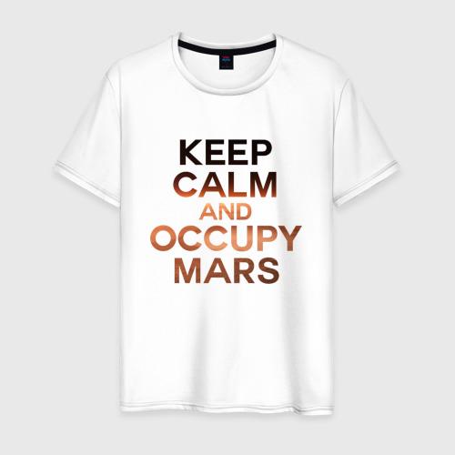 Мужская футболка хлопок Илон Маск Фото 01