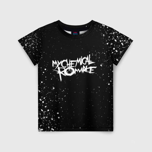 Детская футболка 3D My Chemical Romance 116 фото