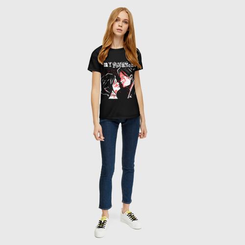 Женская футболка 3D My Chemical Romance | MCR Фото 01