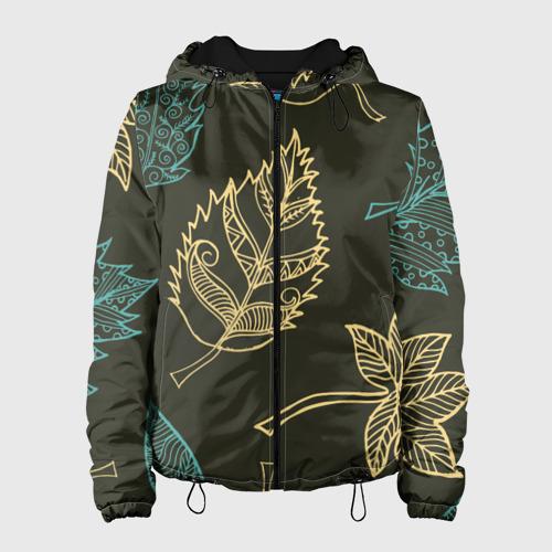 Женская куртка 3D Осенний мотив XXS фото