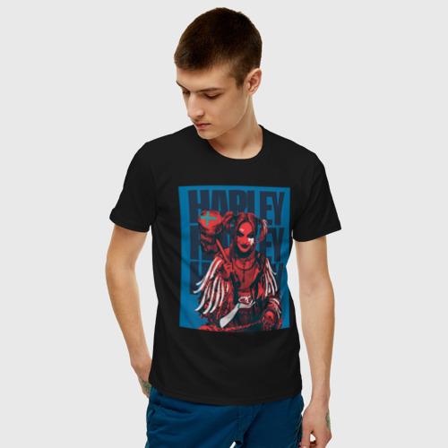 Мужская футболка хлопок Harley Quinn Harley Quinn Фото 01