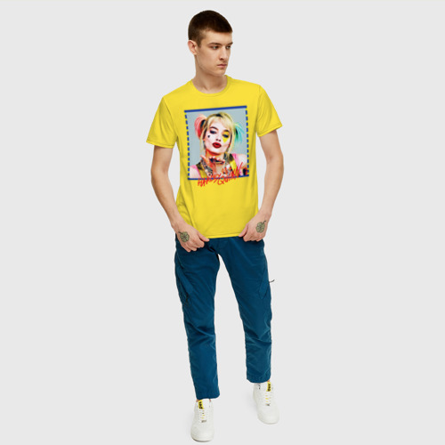 Мужская футболка хлопок Harley Quinn XX Фото 01