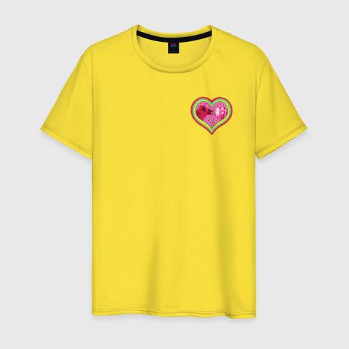 Мужская футболка хлопок Harley Quinn in heart Фото 01