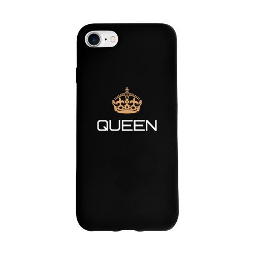 Чехол для Apple iPhone 7/8 soft-touch NEW Королева Фото 01
