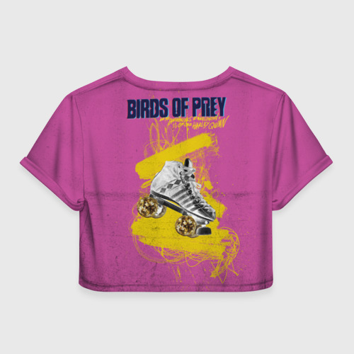Женская футболка Crop-top 3D Birds of Prey XX Фото 01