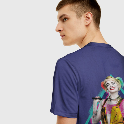 Мужская футболка 3D Harley Quinn Фото 01