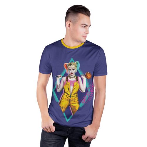 Мужская футболка 3D спортивная Harley Quinn Фото 01