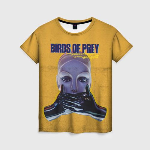 Женская футболка 3D Birds of Prey Black mask Фото 01