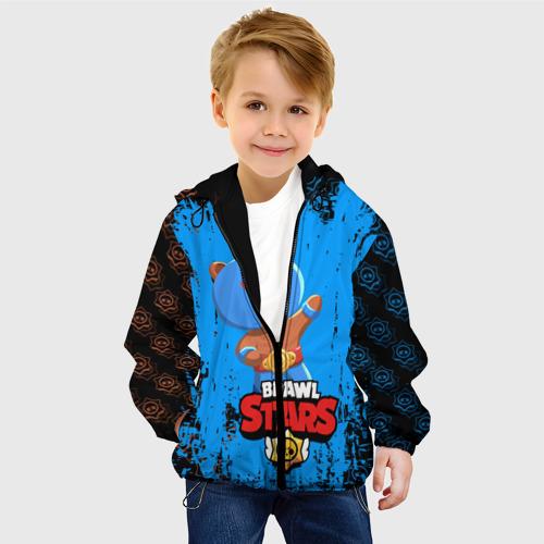 Детская куртка 3D BRAWL STARS EL BROWN. Фото 01