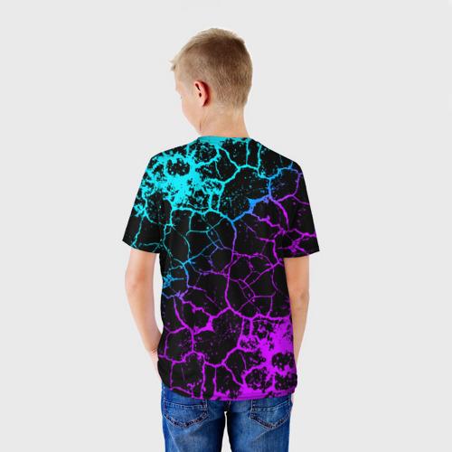 Детская футболка 3D BRAWL STARS LEON ОБОРОТЕНЬ. Фото 01