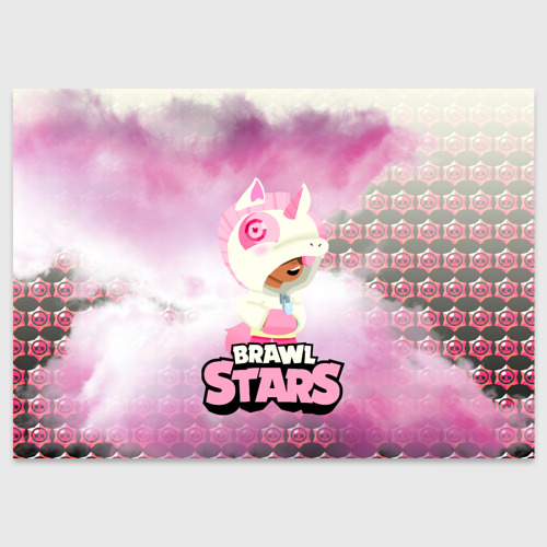 Поздравительная открытка Leon Unicorn Brawl Stars Фото 01