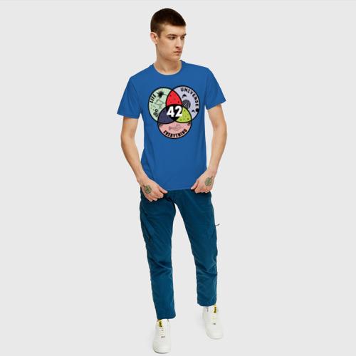 Мужская футболка хлопок Life Universe Everything Фото 01