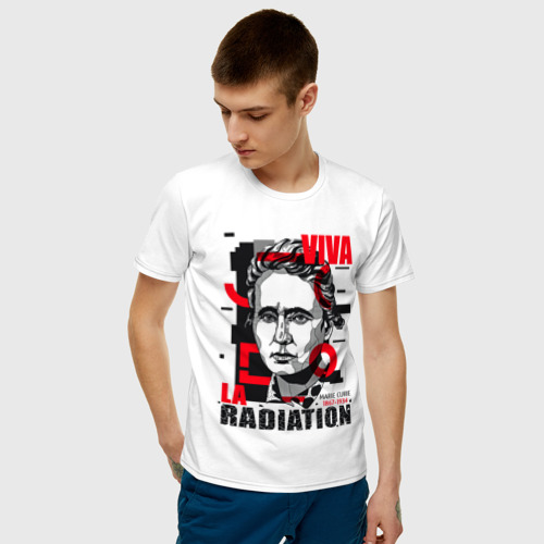 Мужская футболка хлопок Marie Curie Фото 01