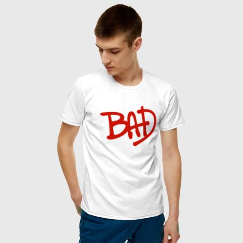 Мужская футболка хлопок Song BAD Фото 01