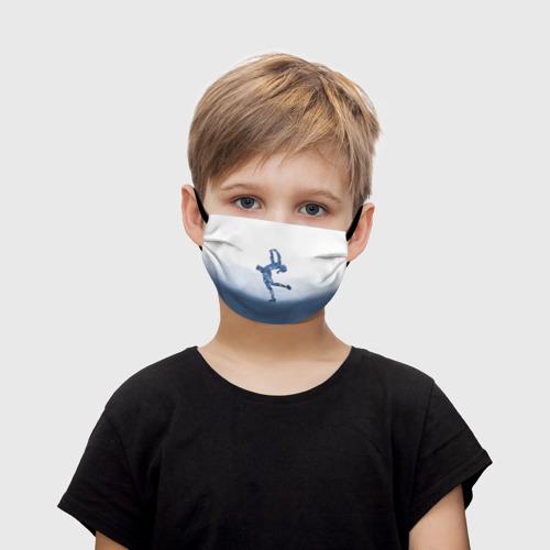 Детская маска (+5 фильтров) Фигурное катание Фото 01