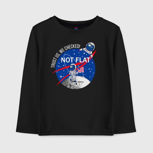Not flat