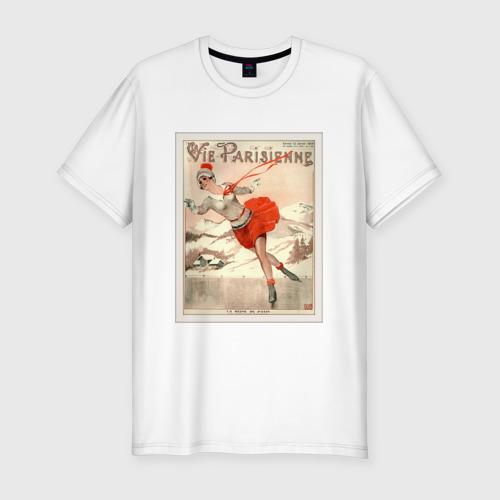 Мужская футболка премиум Фигурное катание Фото 01
