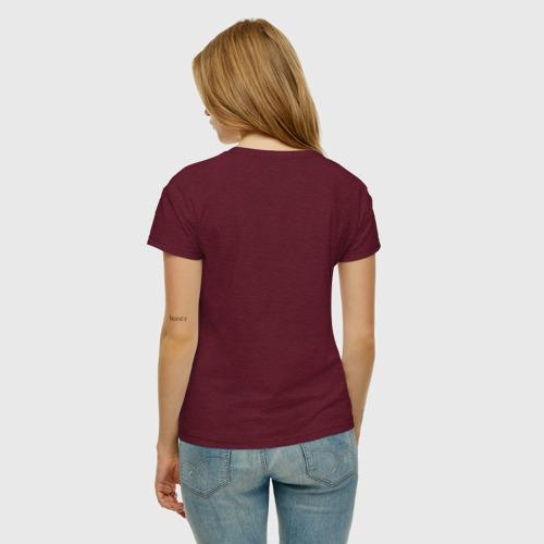 Женская футболка хлопок Science Фото 01