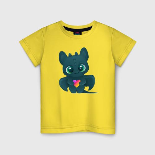 Детская футболка хлопок Дракончик Likee Фото 01