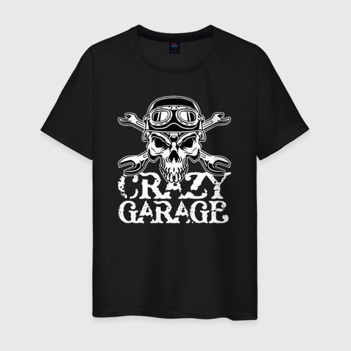 Мужская футболка хлопок Crazy garage Фото 01
