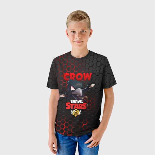 Детская футболка 3D BRAWL STARS CROW | ВОРОН Фото 01
